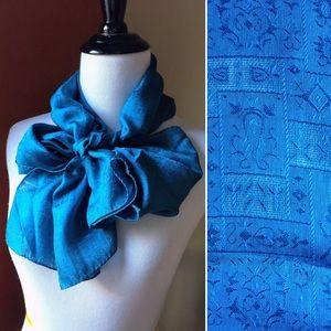Vintage silk Anne Klein for Vera Japan made scarf